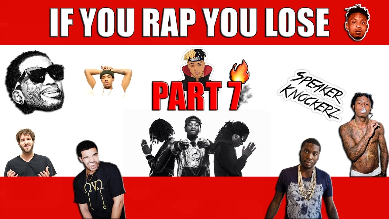 If you rap you lose