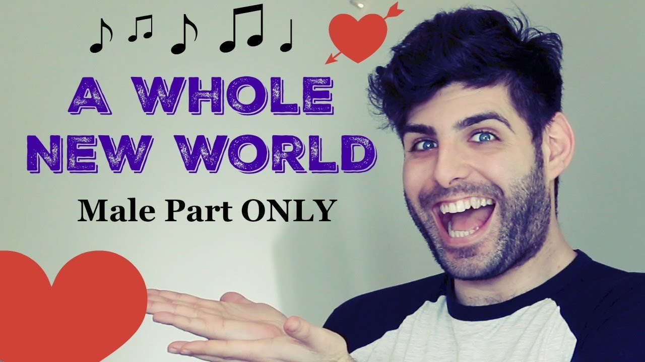 A whole new world music only