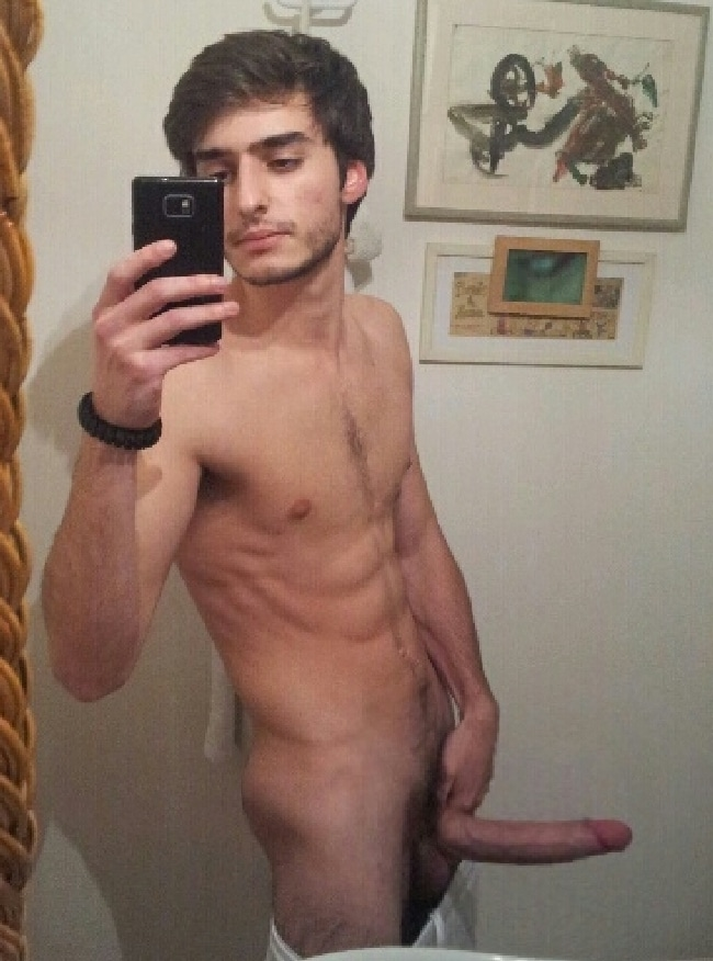 Naked guys real penis